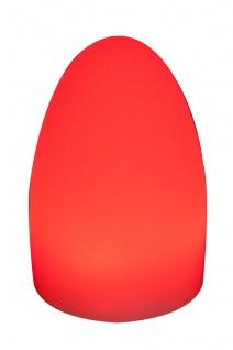 Luminatos EGG 15, LED Tisch-Leucht-Ei 15 cm inkl. Fernbedienung Tischleuchte