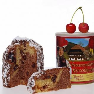 Beckesepp Schwarzwälder-Kirschkuchen in der Dose, 400g Das Geschenk