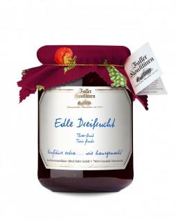 Marmelade aus dem Schwarzwald Faller Edle Dreifrucht-Konfitüre extra 450 Gramm