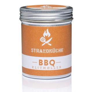 Strandküche Klitmøller BIO BBQ Gewürzmischung 30 g Würzige BBQ Marinade
