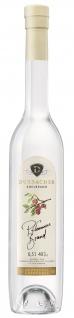 Durbacher Pflaumen Brand Edler Obstbrand 40% Vol. 0, 5L