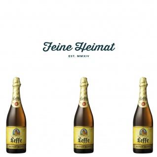 Leffe Blond belgisches Bier 3 x 0, 75 Ltr.6, 6% Alkohol