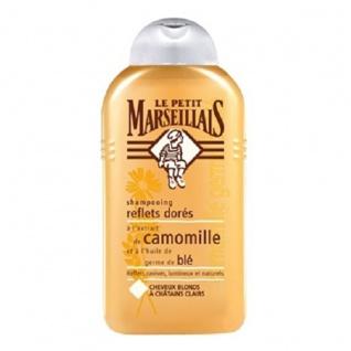 Le Petit Marseillais Shampoo mit Kamille-Extrakt und Weizenkeimöl für blondes Haar 250 ml