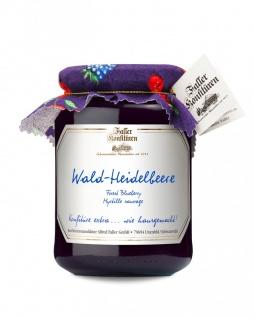 Marmelade aus dem Schwarzwald Faller Wald-Heidelbeer-Konfitüre extra 450 Gramm