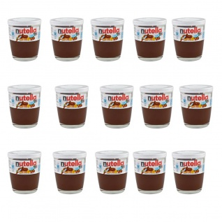Ferrero nutella im praktischen Trinkglas 15 x 200 Gramm