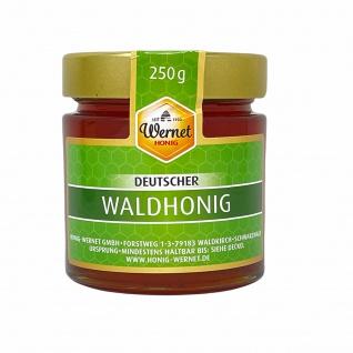 Honig Wernet Traditionsimker im Schwarzwald Deutscher Waldhonig im 250g Glas