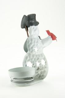 Teelicht Schneemann im 4er Set verschiedene Motive - Vorschau 5