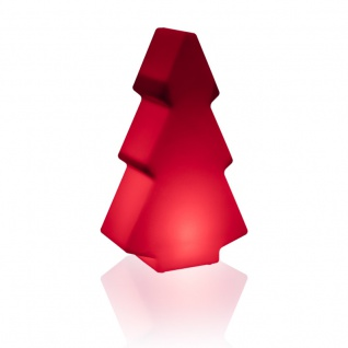 Luminatos 401, LED Leucht Weihnachtsbaum 49 cm 16 Farben mit Fernbedienung wasserdicht