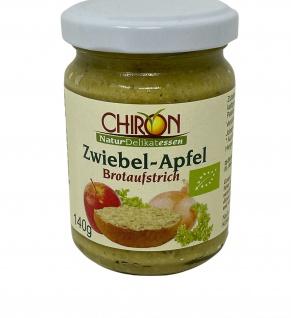 CHIRON Naturdelikatessen Bio Zwiebel-Apfel Brotaufstrich kbA 140 g