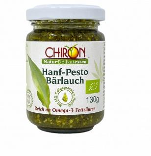 CHIRON Naturdelikatessen Bio Hanf-Pesto Bärlauch kbA 130 g Glas