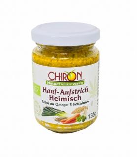 CHIRON Naturdelikatessen Bio Hanf-Aufstrich Heimisch kbA 135 g