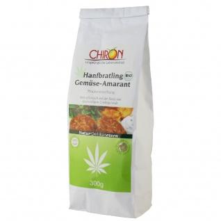 CHIRON Naturdelikatessen Bio Hanfbratling Gemüse-Amarant kbA 300 g Beutel