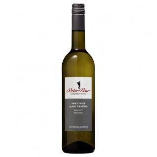 Roter Bur Glottertäler Winzer Steillage Einzellage Eichberg Weißwein Pinot Noir Blanc de Noirs 0, 75 Liter Der Vielseitige