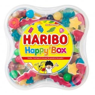 Haribo Happy Box 600 Gramm - Vorschau 1