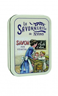La Savonnerie De Nyons Seife in der Metalldose L'Ecole Verbena