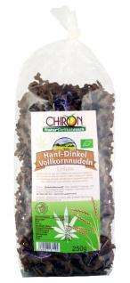 CHIRON Naturdelikatessen Bio Hanf-Dinkel Vollkornnudel kbA 250 g Beutel