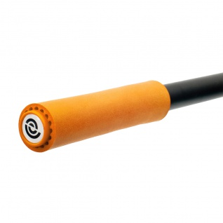 BikeRibbon Silicongriffe Fahrradgriffe, Griffe, lenkergriffe SI02 Extralite, orange