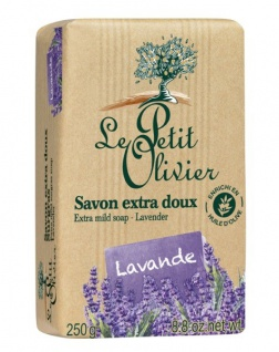 Le Petit Olivier Seife mit Lavendel extra mild 250 Gramm aus Frankreich
