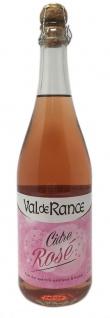Val de Rance Cidre de Bretagne Rosé Apfelwein aus Frankreich 0, 75 Liter