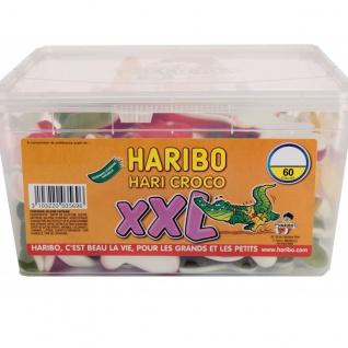 Haribo Croco XXL 60 Stck Krokodile 1, 6 KG