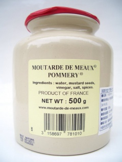 Meaux-Senf Pommery ® Mutarde de MEAUX französischer Senf 500 Gramm - Vorschau 4