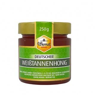 Honig Wernet Traditionsimker im Schwarzwald Deutscher Weißtannenhonig im 250g Glas