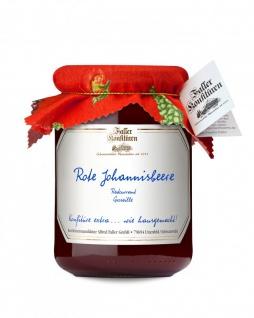 Marmelade aus dem Schwarzwald Faller Johannisbeer rot Konfitüre extra 450 Gramm