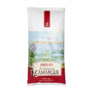 Le Saunier de Camargue Gros Sel Grobes Meersalz aus Frankreich 1000 Gramm