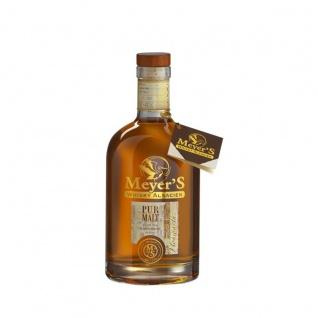 Meyer's Whisky Pure Malt 70cl 40% Whiskey aus Frankreich Elsass 0, 7 Liter