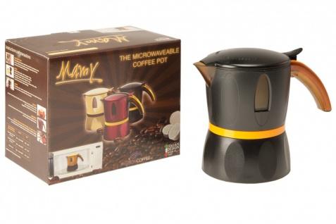 Mamy - Die Mokka / Espresso Maschine für die Mikrowelle