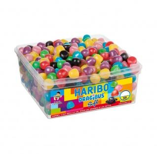 Haribo DRAGIBUS Soft Kaubonbons in verschiedenen Farben 300 Stück