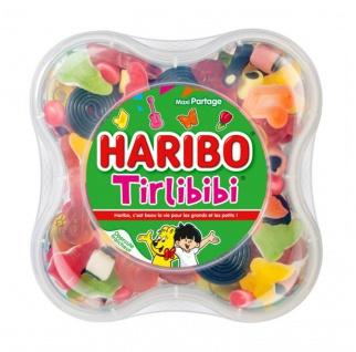 Haribo Tirlibibi Gummibärchen-Box 750 Gramm