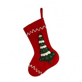 490029 Weihnachtssocke 'Weihnachtsbaum'