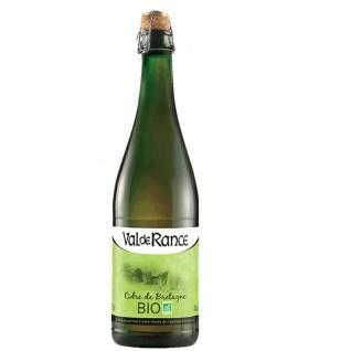 Val de Rance Cidre de Bretagne Biologique BIO Apfelwein aus Frankreich 0, 75 Liter