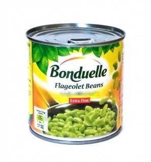 Bonduelle Flageolets Extra Fin Grüne Bohnenkerne 400 Gramm
