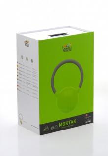 MOKTAK Stereo Design Lautsprecher grün Bluetooth NFC