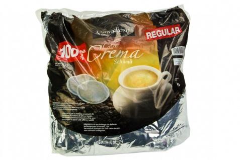 100 Kaffeepads im Megapack Eurocafe Grandioso Cafe Crema Schümli einzeln aromaversiegelt