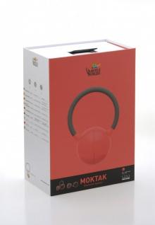MOKTAK Stereo Design Lautsprecher rot Bluetooth NFC