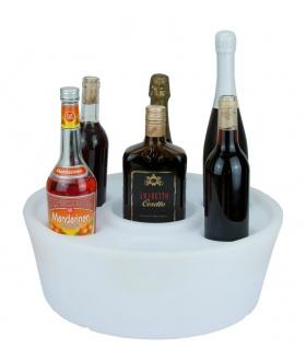 Luminatos PARTY LED Flaschen Korb Halter Flaschenständer Bottle Box Leuchtet in 16 Farben