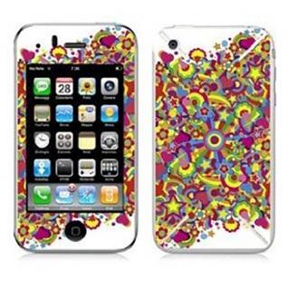"""BODINO Designer Super Skin für iPhone 4 / 4S by Laurence Whiteley """" MONTERY POP"""""""