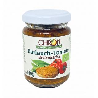 CHIRON Naturdelikatessen Bio Bärlauch-Tomate Brotaufstrich kbA 140 g Glas