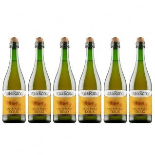Val de Rance Cidre de Bretagne Doux Apfelwein aus Frankreich 6 x 0, 75 Liter