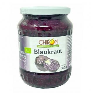 CHIRON Naturdelikatessen Bio Blaukraut im Glas kbA 680 Gramm