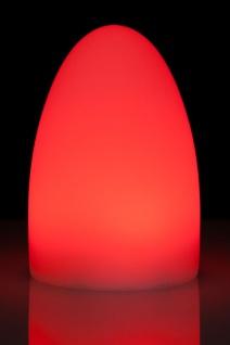 Luminatos EGG 15, LED Tisch-Leucht-Ei 15 cm inkl. Fernbedienung Tischleuchte - Vorschau 5