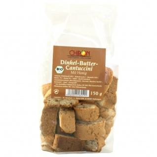 CHIRON Naturdelikatessen Bio Dinkel-Butter Cantuccini kbA 150 g Beutel