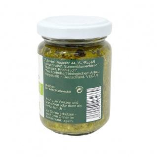 CHIRON Naturdelikatessen Bio Rucola Pesto kbA 140 Gramm Glas - Vorschau 2