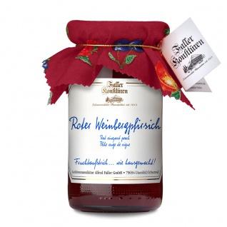 Marmelade aus dem Schwarzwald Faller Weinbergpfirsich Fruchtaufstrich 235g