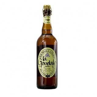 La Goudale Lagerbier 7, 2% Alkohol 0, 750 Liter Starkbier aus Nordfrankreich