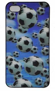 3D Schutzhülle für iPhone 5 Motiv Fußball