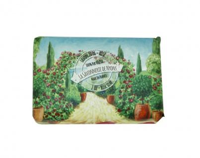 La Savonnerie De Nyons Seife Shea Butter, Olivenöl und Rosenduft Seife